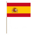 Spain Country Hand Flag - Large.
